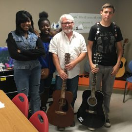 Local musician teaches Lower Price Hill youth guitar
