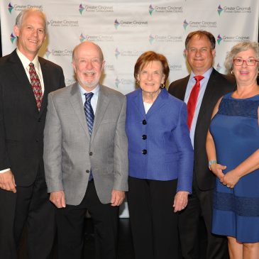 Long-time supporters honored