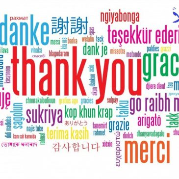 A thank you to the foundations that contributed first quarter of 2020