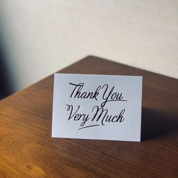 A thank you to the foundations that contributed in third quarter 2021
